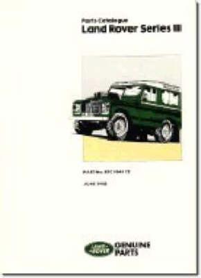 Land Rover Series 3 Parts Catalogue (Paperback)