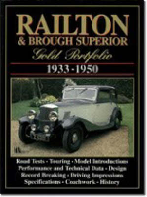 Railton and Brough Superior Gold Portfolio, 1933-50 (Paperback)