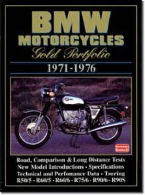 BMW Motorcycles Gold Portfolio: 1971-1976 - Motorcycle gold portfolio series (Paperback)