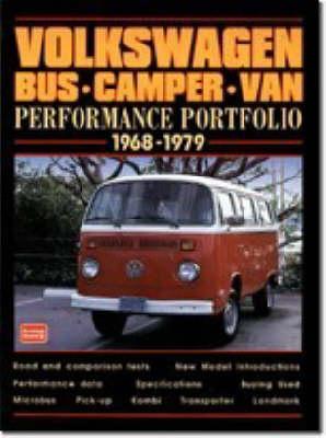 The Volkswagen Bus/Camper/Van Performance Portfolio 1968-1979 - Performance Portfolio (Paperback)