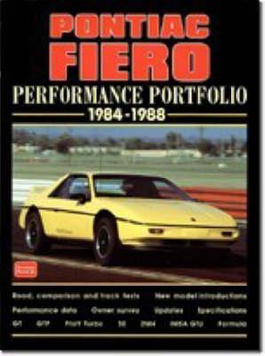 Pontiac Fiero Performance Portfolio 1984-88 - Performance Portfolio (Paperback)