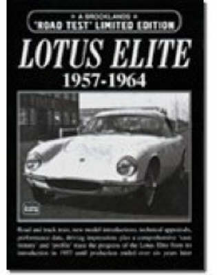 Lotus Elite 1957-1964 Limited Edition - Limited Edition (Paperback)