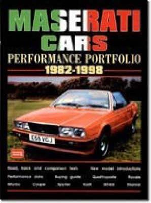 Maserati Cars Performance Portfolio 1982-1998 (Paperback)