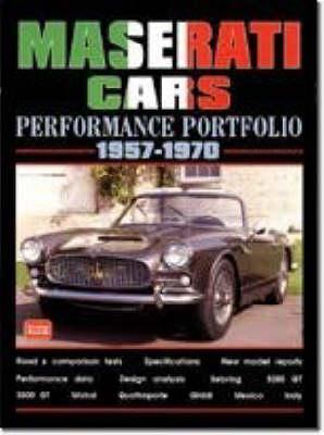 Maserati Cars Performance Portfolio 1957-70 (Paperback)