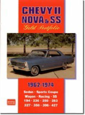 Chevy II Nova and SS Gold Portfolio 1962-1974 (Paperback)