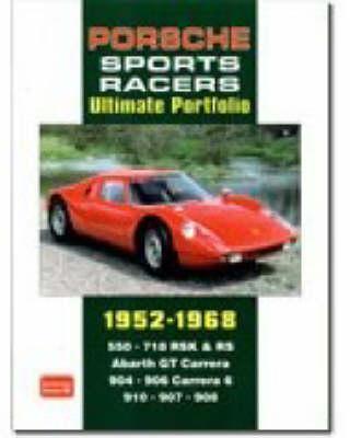 Porsche Sports Racers Ultimate Portfolio 1952-1968 (Paperback)