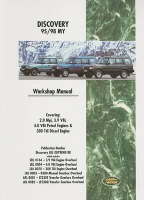 Land Rover Discovery 95/98 My Workshop Manual: LRL 0079 ENG (Paperback)
