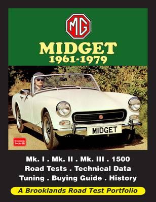MG Midget 1961-1979 Road Test Portfolio (Paperback)