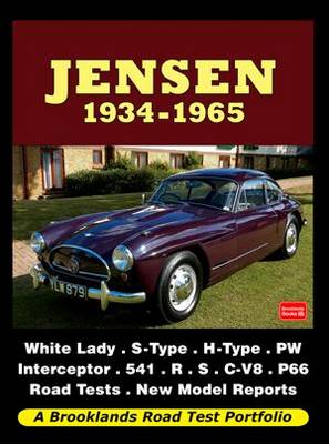 Jensen 1934-1965 Road Test Portfolio (Paperback)