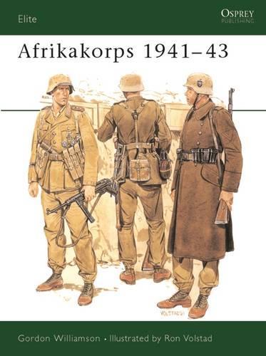 Afrika Korps, 1941-43 - Elite 34 (Paperback)