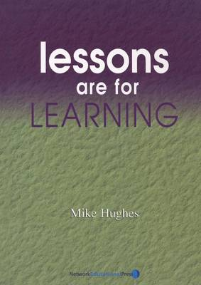 Lessons are For Learning - School Effectiveness S. No. 4 (Paperback)