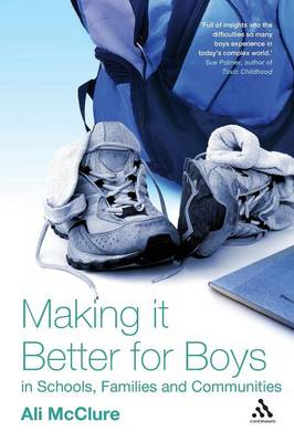 Making it Better for Boys in Schools, Families and Communities (Paperback)
