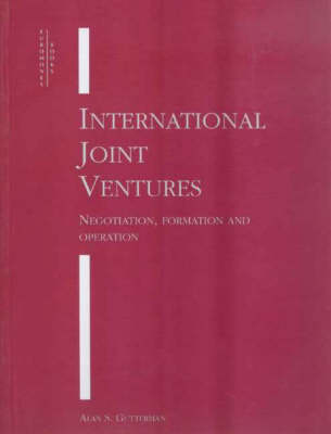 International Joint Ventures (Paperback)