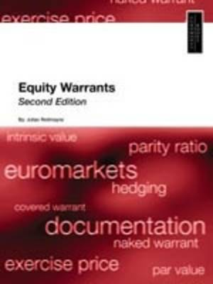 Equity Warrants: An International Perspective (Paperback)