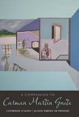 A Companion to Carmen Martin Gaite - Coleccion Tamesis: Serie A, Monografias v. 267 (Hardback)