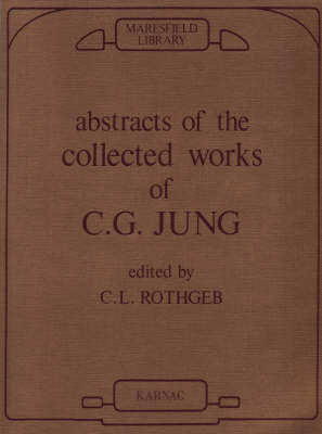 Abstracts of the Collected Works of C.G. Jung (Paperback)