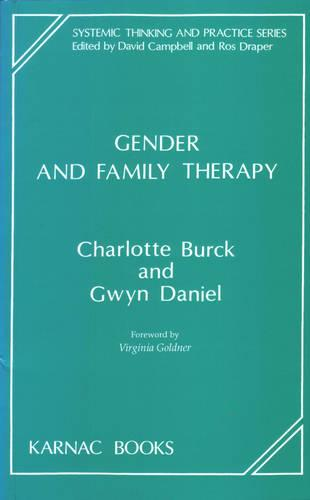 Gender and Family Therapy (Paperback)