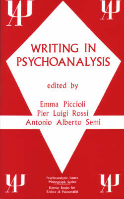 Writing in Psychoanalysis (Paperback)