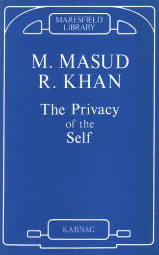 The Privacy of the Self (Paperback)