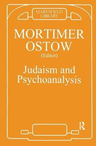 Judaism and Psychoanalysis (Paperback)