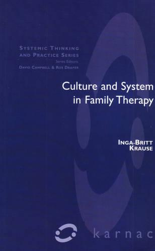 Culture and System in Family Therapy (Paperback)