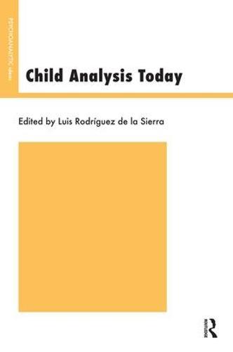 Child Analysis Today (Paperback)