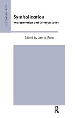 Symbolization: Representation and Communication (Paperback)