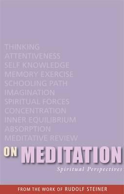 On Meditation: Spiritual Perspectives (Paperback)