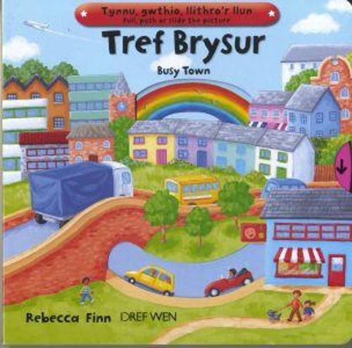 Tref Brysur/Busy Town (Hardback)