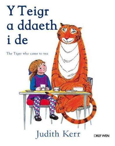 Teigr a Ddaeth i De, Y / Tiger Who Came to Tea, The (Paperback)