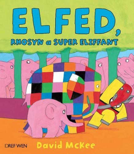 Cyfres Elfed: Elfed, Rhosyn a Super Eliffant (Paperback)
