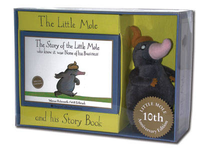 The Story of the Little Mole - Toy and Book