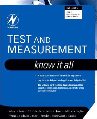 Test and Measurement: Know It All - Newnes Know it All (Paperback)