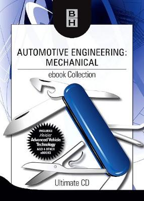 Automotive Engineering: Mechanical ebook Collection: Ultimate CD (CD-ROM)