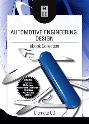 Automotive Engineering: Design ebook Collection: Ultimate CD (CD-ROM)
