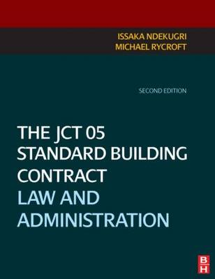 The JCT 05 Standard Building Contract (Paperback)
