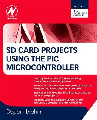 SD Card Projects Using the PIC Microcontroller (Paperback)