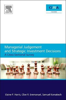 Managerial Judgement and Strategic Investment Decisions (Paperback)