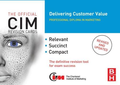 CIM Revision Cards: Delivering Customer Value (Paperback)