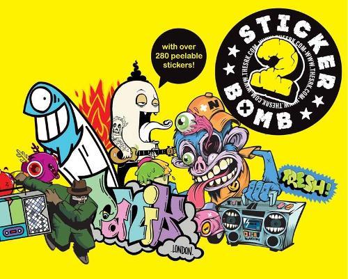 Stickerbomb 2 (Paperback)
