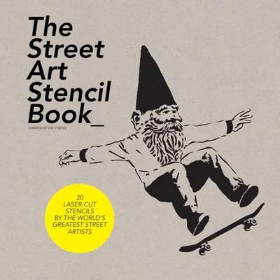 Street Art Stencil Book (Paperback)