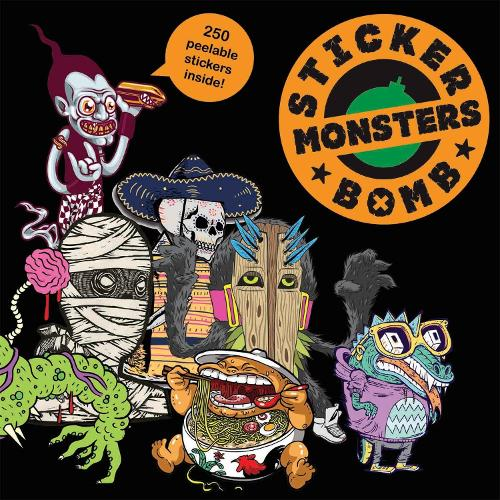 Stickerbomb Monsters (Paperback)