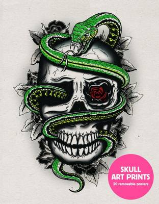 Skull Art Prints: 20 Removable Posters