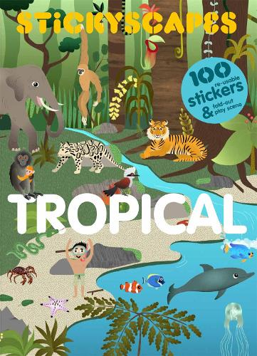 Stickyscapes Tropical Adventures (Paperback)