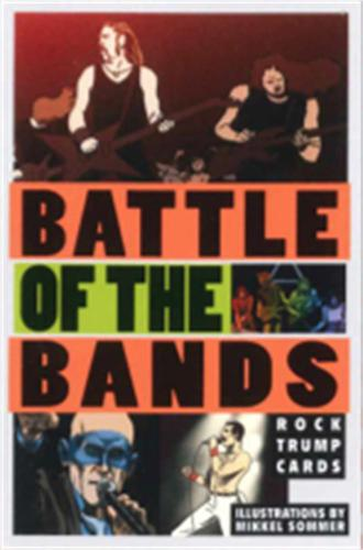 Battle of the Bands: Rock Trump Cards - Magma for Laurence King