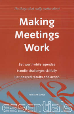 Making Meetings Work (Paperback)