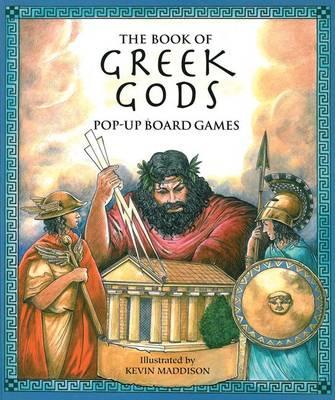 The Book of Greek Gods: Pop-Up Board Games - Pop Up Board Games S. (Hardback)