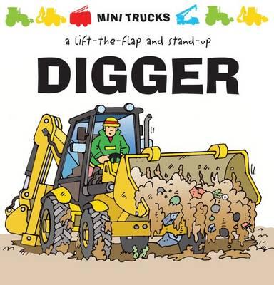 Digger - Mini Trucks (Hardback)