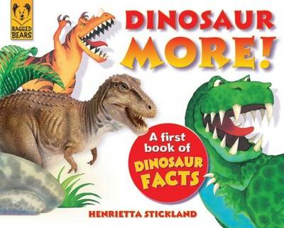 Dinosaur More: A First Book of Dinosaur Facts (Paperback)