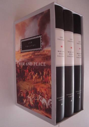 War And Peace: 3 vols (Hardback)